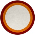 rug #113356 | round plain rug