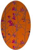 rug #1134266 | oval natural rug