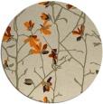 rug #1134719 | round beige natural rug