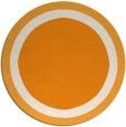 rug #113505 | round light-orange borders rug