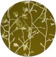 rug #1135055 | round light-green natural rug