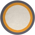 rug #113512 | round borders rug