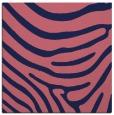 rug #1135547 | square blue-violet stripes rug