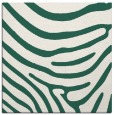 rug #1135587 | square blue-green stripes rug