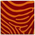 rug #1135663 | square orange animal rug