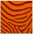 rug #1135715 | square orange stripes rug
