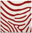 rug #1135719 | square red stripes rug