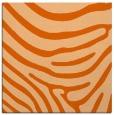 rug #1135731 | square red-orange animal rug