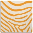 rug #1135819 | square light-orange animal rug