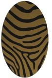 rug #1135843   oval stripes rug
