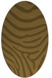 rug #1135845 | oval animal rug