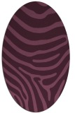 rug #1135997   oval stripes rug