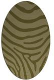 rug #1136171 | oval light-green animal rug