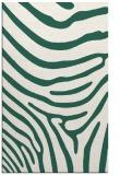 rug #1136323 |  blue-green stripes rug