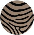 rug #1136571 | round beige animal rug