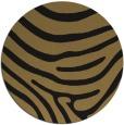 rug #1136587 | round brown stripes rug