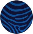 rug #1136591   round blue animal rug