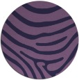 rug #1136655 | round purple stripes rug