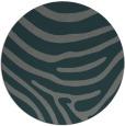 rug #1136687 | round green animal rug