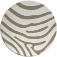 rug #1136719 | round white stripes rug