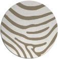 rug #1136719 | round mid-brown stripes rug