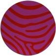 rug #1136827 | round red animal rug