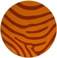rug #1136831 | round red-orange stripes rug