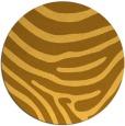 rug #1136887 | round light-orange animal rug