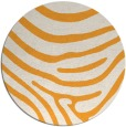 rug #1136923 | round white stripes rug