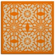 rug #1137295 | square orange borders rug