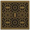 rug #1137315 | square mid-brown borders rug