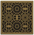 rug #1137323 | square mid-brown borders rug