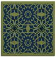 rug #1137339 | square blue borders rug