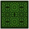 rug #1137435 | square green rug