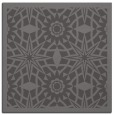 rug #1137447 | square mid-brown borders rug