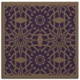 rug #1137543 | square purple borders rug