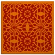 rug #1137555   square orange borders rug