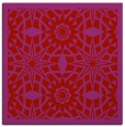 rug #1137563 | square red graphic rug