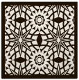 rug #1137595 | square brown graphic rug