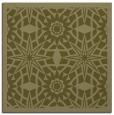 rug #1137643 | square light-green borders rug