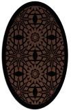 rug #1137680 | oval borders rug