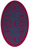 rug #1137783 | oval rug