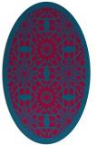 rug #1137784 | oval borders rug