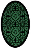 rug #1137865 | oval borders rug