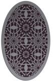 rug #1137915   oval purple borders rug