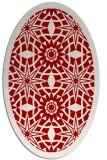 rug #1137919 | oval red rug