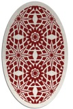 rug #1137929 | oval borders rug