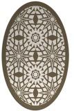 rug #1137986 | oval borders rug