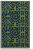 rug #1138075 |  green graphic rug
