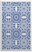 rug #1138079 |  blue borders rug
